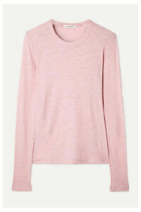 James Perse - Slub Supima Cotton-jersey Top - Baby pink