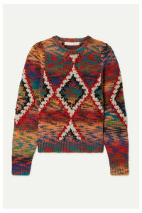 Vanessa Bruno - Morgane Jacquard-knit Sweater - Red