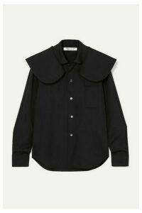 Comme des Garçons Comme des Garçons - Cotton-poplin Shirt - Black