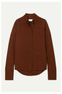Wales Bonner - Cady Shirt - Brown