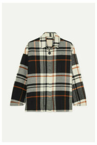 Madewell - Bromley Checked Cotton-flannel Shirt - Black