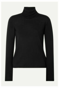 Max Mara - Wool Turtleneck Sweater - Black