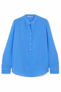 Stella McCartney - Eva Silk Crepe De Chine Blouse - Blue
