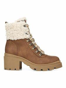 Sambert Faux Fur-Trim Boots