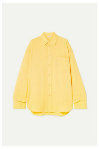 Balenciaga - Silk-crepe Shirt - Yellow