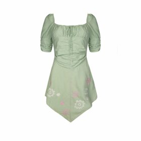 Olivia Annabelle - Fable Blouse In Dark Toile