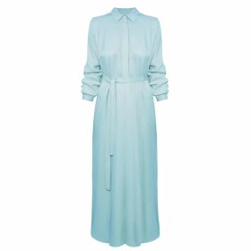 Asneh - Kitty Large Leopard Print Cashmere Scarf In Grey