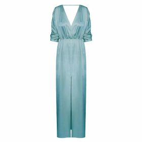 Asneh - Kitty Large Leopard Print Cashmere Scarf In Brown