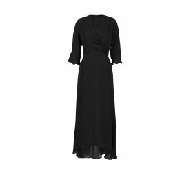 UNDRESS - Cora Sacramento Green Maxi Shirt Dress