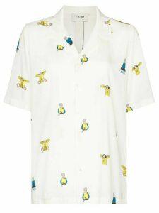 Kirin Flying DJ print shirt - White