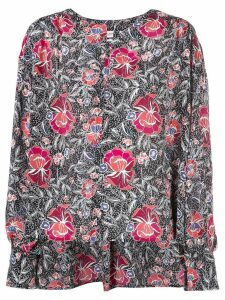 Isabel Marant Étoile all-over print blouse - Black