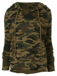 Nili Lotan camouflage print hoodie - Green