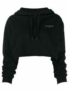Gaelle Bonheur sequin embellished hoodie - Black