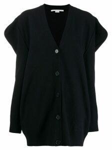 Stella McCartney structured sleeves cardigan - Blue