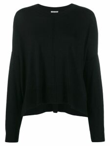 LIU JO fine knit sweater - Black