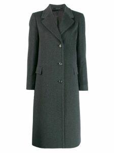 Tagliatore single breasted coat - Grey
