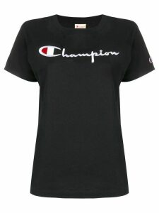 Champion logo patch T-shirt - Black