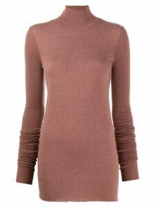 Rick Owens Lilies funnel neck sweater - Purple