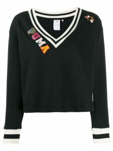 Puma v-neck sweatshirt - Black
