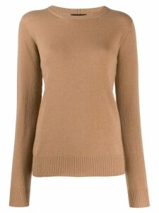 Giorgio Armani fine knit jumper - NEUTRALS