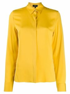 Theory regular fit blouse - Yellow