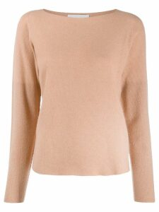 Fabiana Filippi soft knit jumper - NEUTRALS