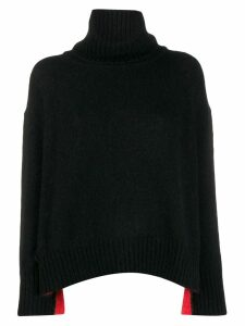 Diesel slouchy knit sweater - Black