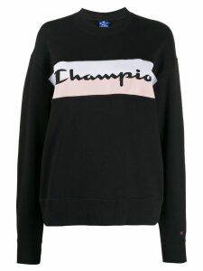 Champion printed logo sweatshirt - Black