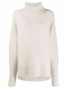 N.Peal oversized sweater - NEUTRALS