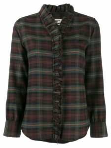 Isabel Marant Étoile ruffled placket shirt - Green