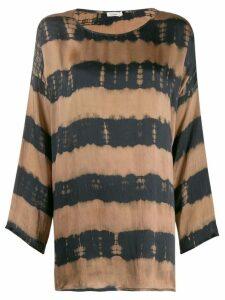 Mes Demoiselles Drake striped top - Brown