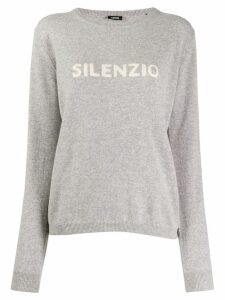 Aspesi round-neck logo sweater - Grey