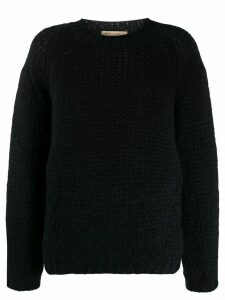 Vanessa Bruno cable knit jumper - Blue