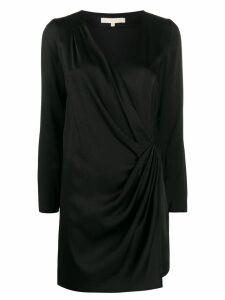 Vanessa Bruno wrap v-neck dress - Black