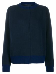 Sofie D'hoore Myrelle colour combo knit cardigan - Blue