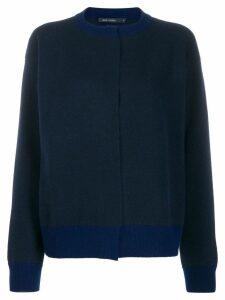Sofie D'hoore Myrelle colour combo knit cardigan - Blue