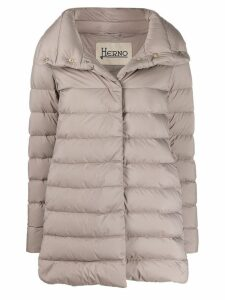 Herno high neck padded jacket - Grey