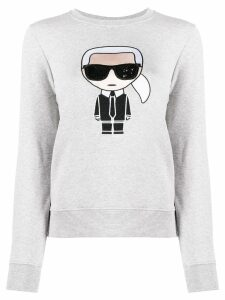 Karl Lagerfeld graphic print sweatshirt - Grey