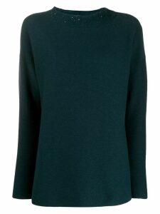 Fabiana Filippi loose-fit jumper - Blue