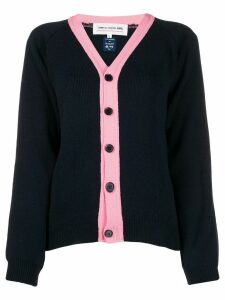 Comme Des Garçons Girl button up cardigan - Blue
