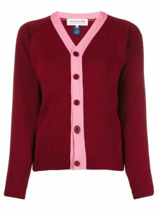 Comme Des Garçons Girl button up cardigan - Red