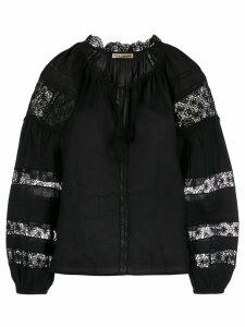 Ulla Johnson lace peasant blouse - Black