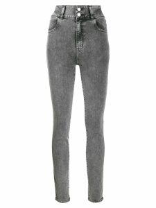 J Brand high waisted skinny jeans - Grey