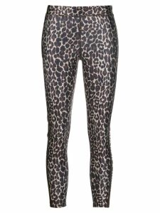 Golden Goose leopard print leggings - Brown