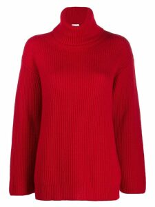 Red Valentino turtleneck knitted jumper