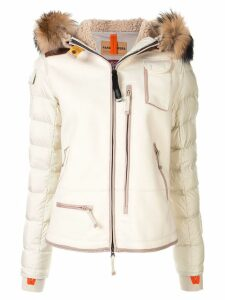 Parajumpers hooded puffer jacket - NEUTRALS