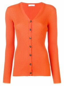 Victoria Beckham button roll neck - ORANGE
