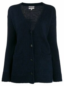 Woolrich oversized long-sleeve cardigan - Blue