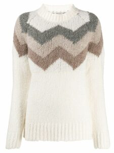 Woolrich colour-block sweater - White
