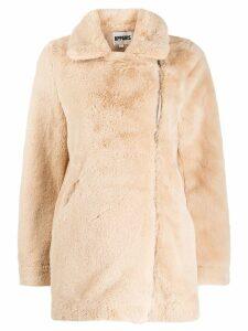 Apparis Rose faux fur jacket - NEUTRALS